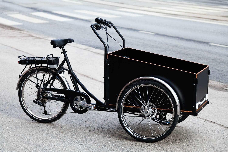 christiania bikes electric cargo bike
